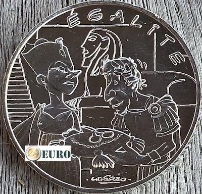10 euros Francia 2015 - Asterix igualdad Cleopatra