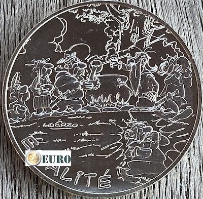 10 euros Francia 2015 - Asterix igualdad gladiador
