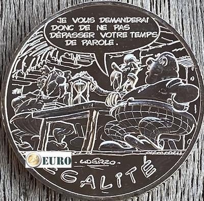 10 euros Francia 2015 - Asterix igualdad El regalo del César