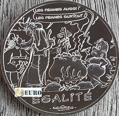 10 euros Francia 2015 - Asterix igualdad El adivino