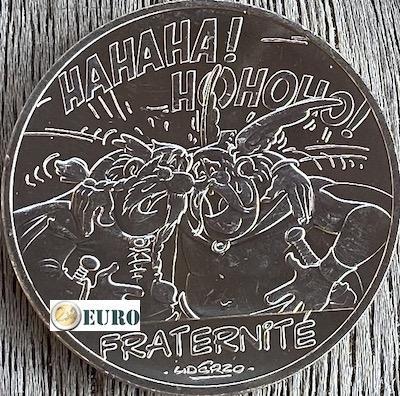 10 euros Francia 2015 - Asterix fraternidad en Bélgica