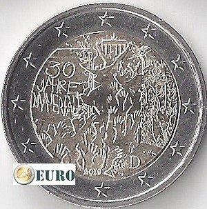 2 euros Alemania 2019 - G Muro de Berlín UNC