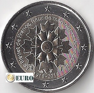 2 euros Francia 2018 - Aciano UNC