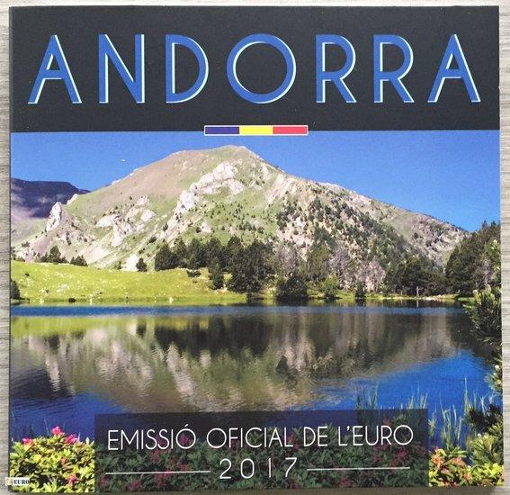 Serie de euro BU FDC Andorra 2017