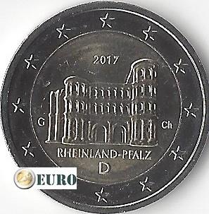 2 euros Alemania 2017 - G Rheinland-Pfalz UNC