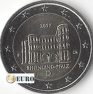 2 euros Alemania 2017 - F Rheinland-Pfalz UNC