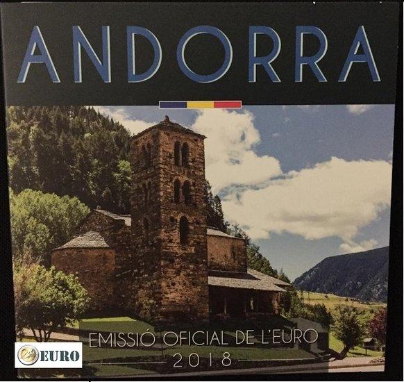 Serie de euro BU FDC Andorra 2018