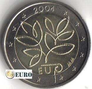 2 euros Finlandia 2004 - Ampliación UE UNC - Categoría 2