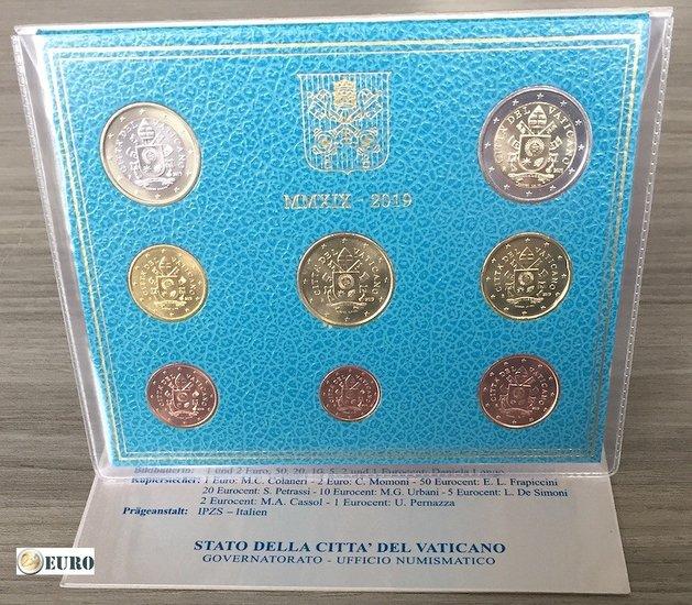 Serie de euro BU FDC Vaticano 2019