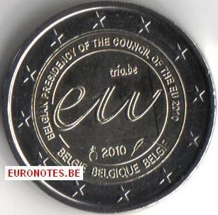 Belgium 2010 - 2 euro EU Presidency UNC