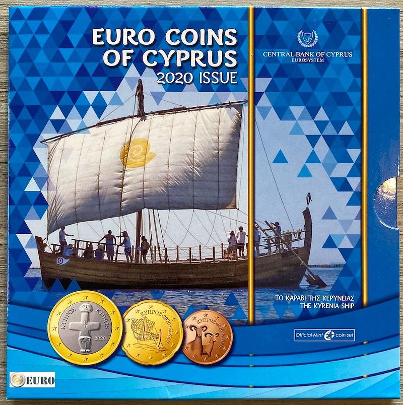 Serie de Euro BU FDC Chipre 2020 Kyrenia