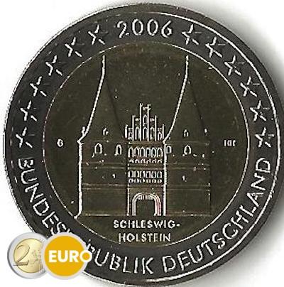Alemania 2006 - 2 euros G Schleswig-Holstein UNC