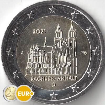 2 euros Alemania 2021 - A Sajonia-Anhalt UNC