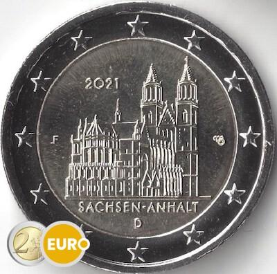 2 euros Alemania 2021 - F Sajonia-Anhalt UNC