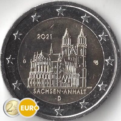 2 euros Alemania 2021 - G Sajonia-Anhalt UNC