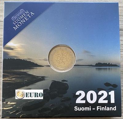 2 euros Finlandia 2021 - Periodismo BE Proof