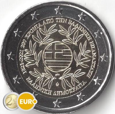 2 euros Grecia 2021 - Revolución griega UNC