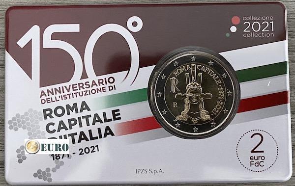 2 euros Vaticano 2019 - 90 años Ciudad del Vaticano BU FDC Numisbrief