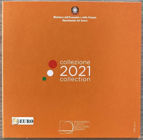 Serie de euro BU FDC Italia 2021