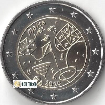 2 euros Malta 2020 - Juegos UNC