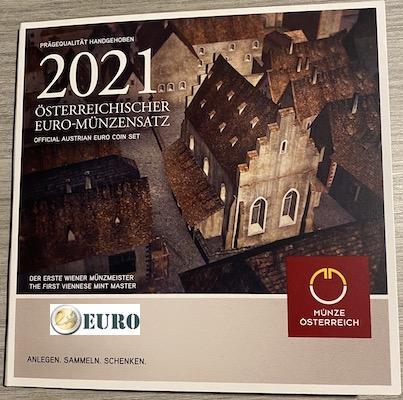 Serie de euro BU FDC Austria 2021 - Schlom