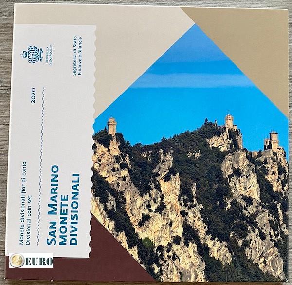Serie de euro BU FDC San Marino 2020