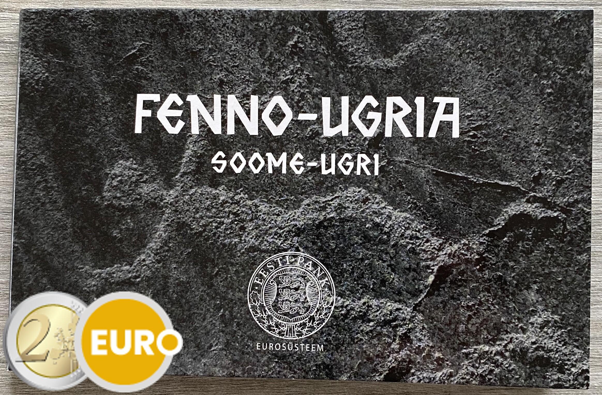 2 euros Estonia 2021 - Pueblos finno-ugros BU FDC Coincard