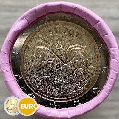 Rollo 2 euros Estonia 2021 - Pueblos finno-ugros