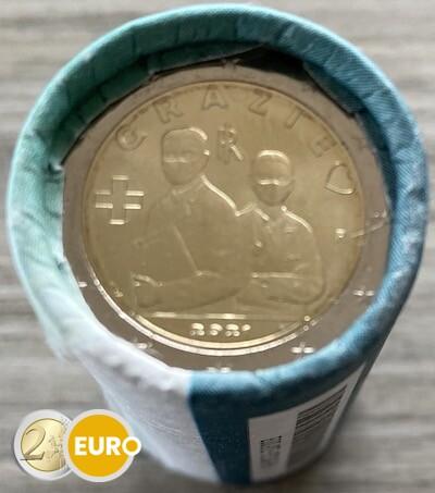 Rollo 2 euros Italia 2021 - Grazie Profesiones sanitarias