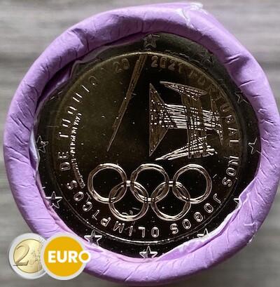 Rollo 2 euros Portugal 2021 - Juegos Olímpicos