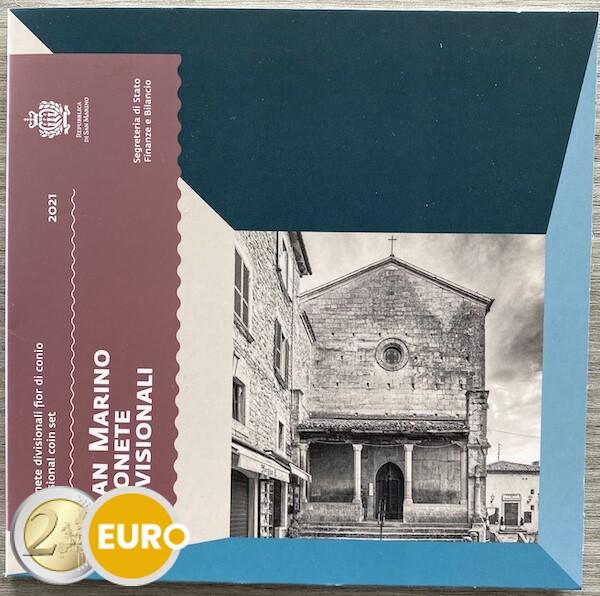 Serie de euro BU FDC San Marino 2021