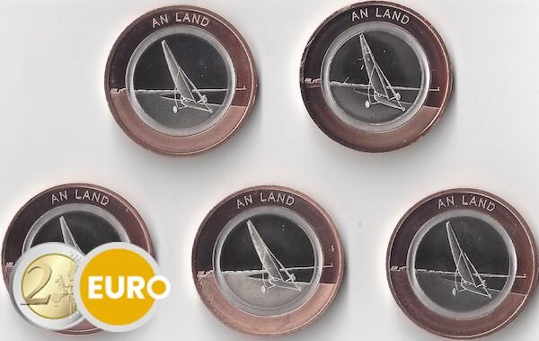 10 euros Alemania 2020 - En tierra ADFGJ UNC