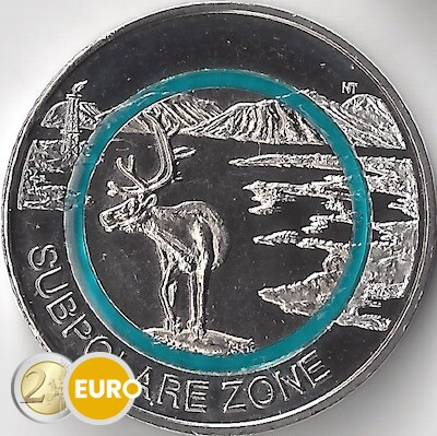 5 euros Alemania 2020 - Zona subpolar UNC