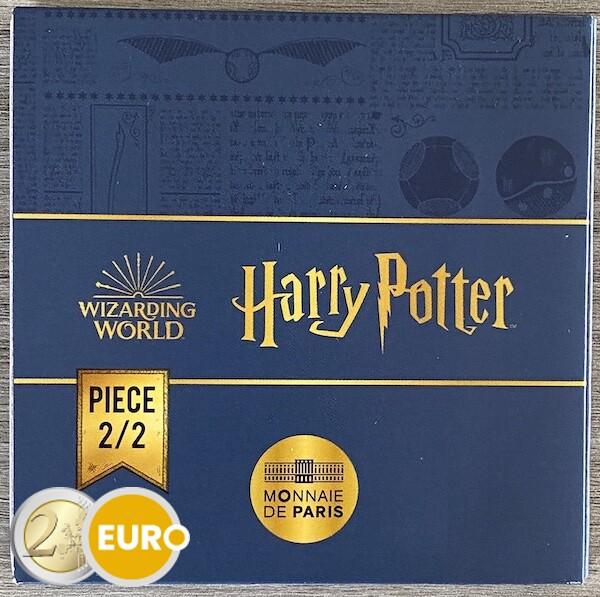 250 euros Francia 2021 - Harry Potter snitch dorada BE Proof Oro