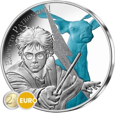 50 euros Francia 2021 - Harry Potter Expecto Patronum BE Proof Plata colorado
